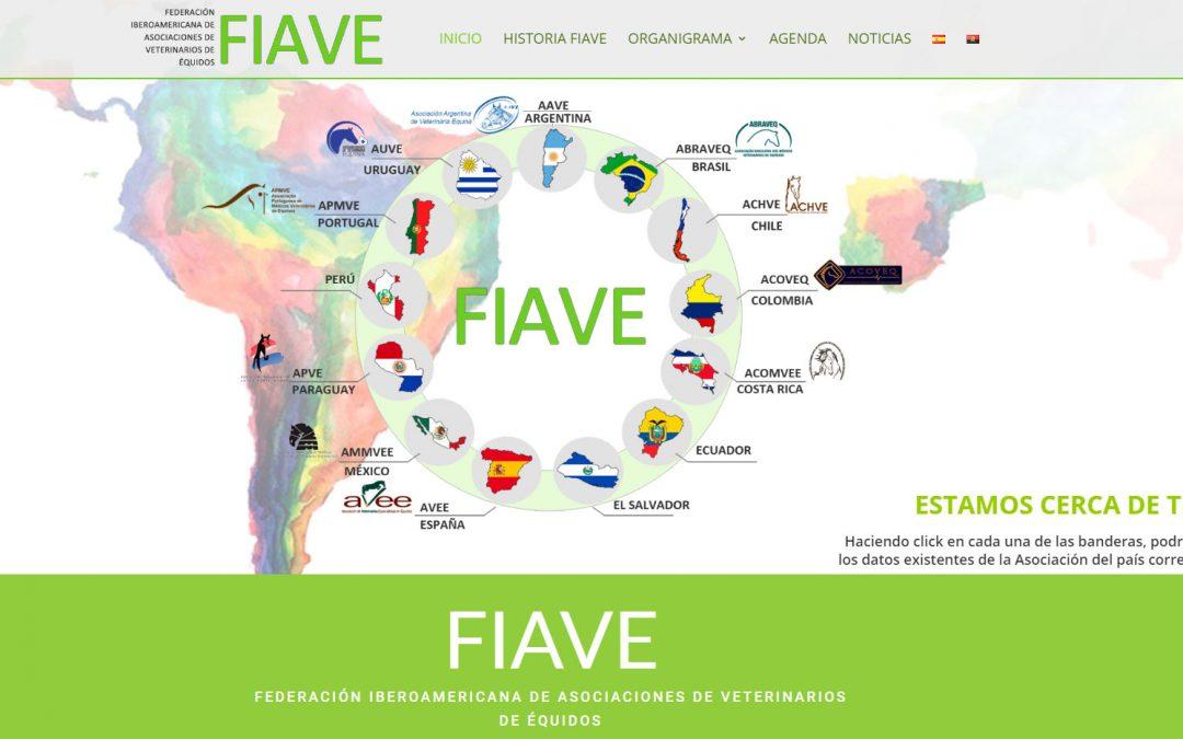 La Federación Iberoamericana de Asociaciones de Veterinarios de Équidos estrena página web