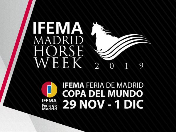 COMUNICADO SOBRE LA PARTICIPACIÓN DE AEFA EN LA MADRID HORSE WEEK